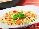 Рецепта Кус-кус с авокадо и скариди